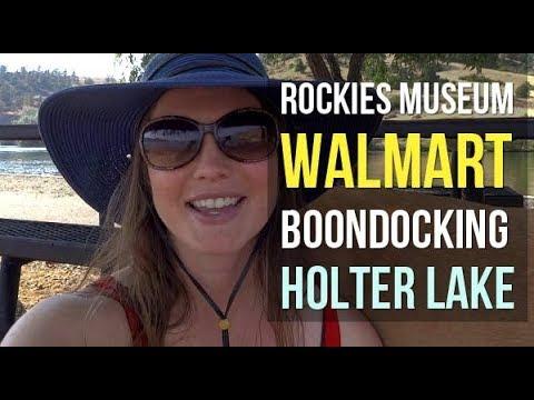 Ep. 9 Rockies Museum / Walmart Boondocking / Holter Lake