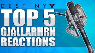 Destiny: Funny Top 5 Reactions To Gjallarhorn Drop / Episode 78