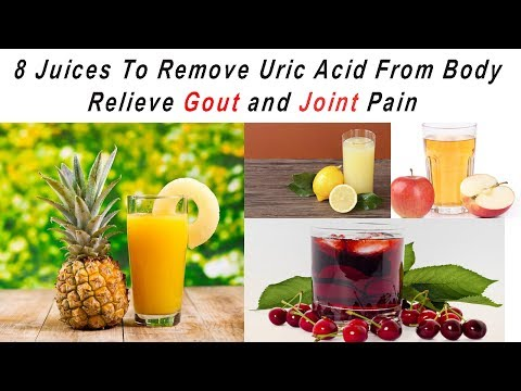 8-juices-to-remove-uric-acid-from-body---relieve-gout-and-joint-pain