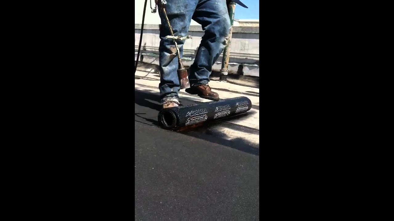 How To Install App 180 Torch Down Roof System Pt1 Youtube