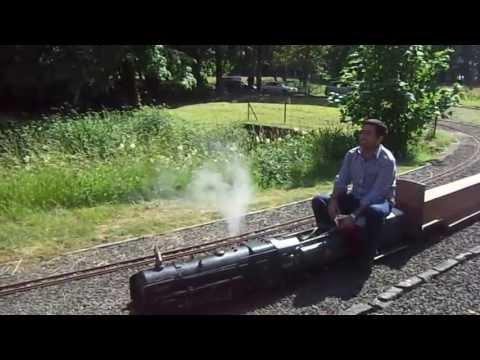 Newliston miniature steam loco ride by Amit Chopra...