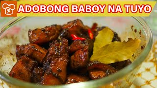 How to Cook Adobong Baboy na Tuyo | Pinoy Easy Recipes