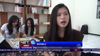 Batik Origami, Perpaduan Motif Khas Indonesia Dan Jepang Dalam Satu Kain - NET12