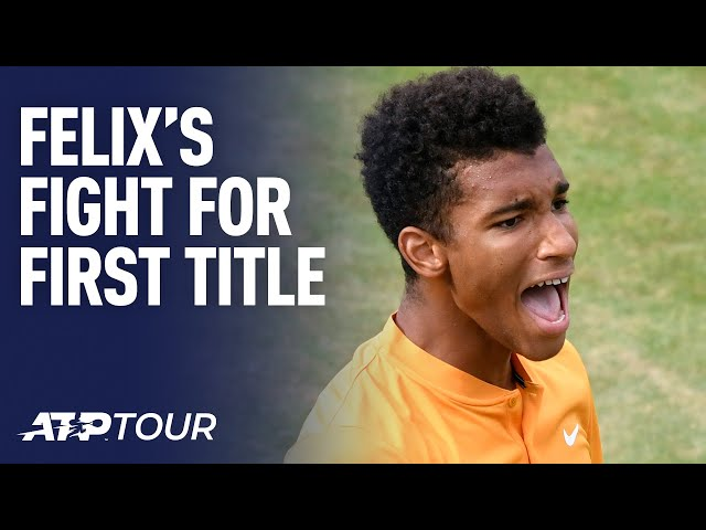 Felix Fighting For First Title | FEATURES | ATP