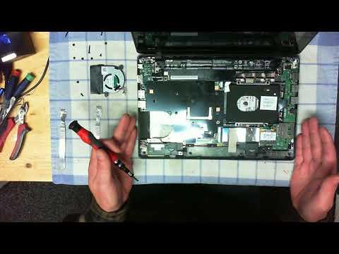 ASUS Laptop X200MA RCLT07 Proper Cleaning & DC POWER JACK Repair.