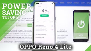 Как включить режим энергосбережения в OPPO Reno 4 Lite - экономия заряда батареи