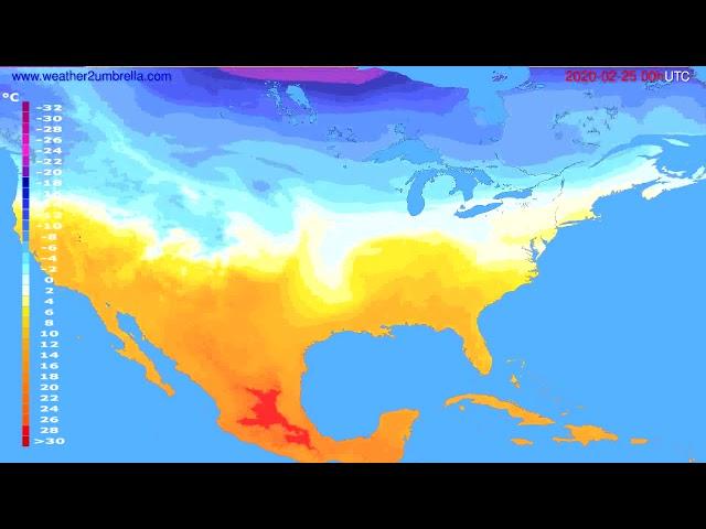 <span class='as_h2'><a href='https://webtv.eklogika.gr/' target='_blank' title='Temperature forecast USA & Canada // modelrun: 00h UTC 2020-02-24'>Temperature forecast USA & Canada // modelrun: 00h UTC 2020-02-24</a></span>