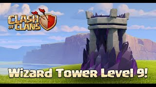 Clash of clans - Sneak Peek #6 - Tour de sorcier lvl 9, nouveau design HDV 11