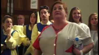 Semana Santa Málaga. Viernes Dolores 2015. Procesión colegio Gamarra (4)