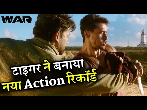 War Tiger Shroff Created New Record Shot 2.30 Minutes Action Scene Without Cuts Mp3
