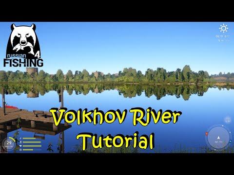 Russian Fishing 4 Volkhov River Tutorial