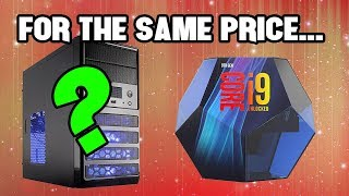 This is the PC You Can Build for the Cost of an Intel i9-9900K