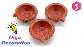 Diwali Diya Decoration with Best easy ways | Diwali Craft Idea By Sonali
