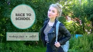 quick & easy back to school makeup + 3 hair styles Thumbnail