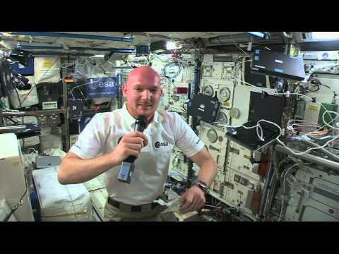 Space Station Crew Discusses The World Cup And Life In Space With German Network