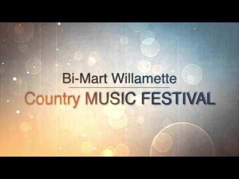 Nashville Business Video. 2015 Bi Mart Willamette Country Music Festival. OMGNashville
