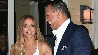 Jennifer Lopez Parties With Boyfriend Alex Rodriguez in Miami Ahead of Their Birthdays