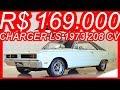#PASTORE R$ 169.000 #Dodge #Charger LS 1973 Branco Ipanema 318 aro 15 MT4 RWD 5.2 #V8 208 cv 42 kgfm