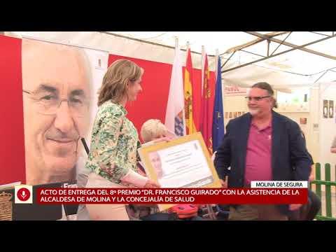 Acto de entrega 'VIII Premio Doctor Francisco Guirado 2018'