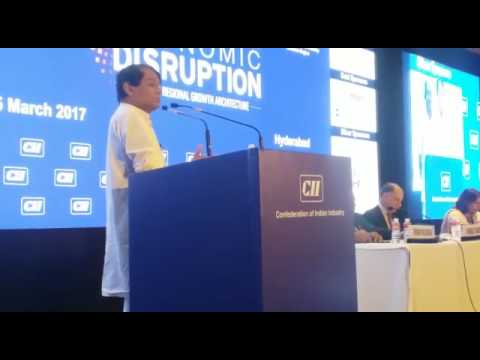 Hon'ble MR Shri Suresh Prabhakar Prabhu Inaugural address at CII Meet