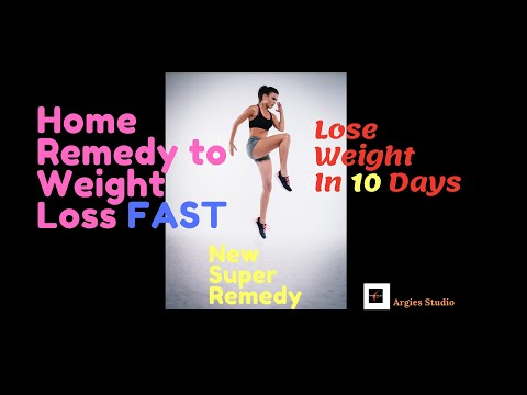 home remedy for weight loss fast 1