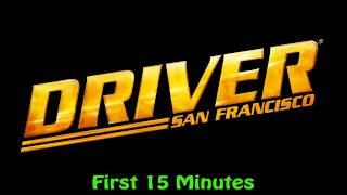 Driver: San Francisco PS3 - First 15 Minutes