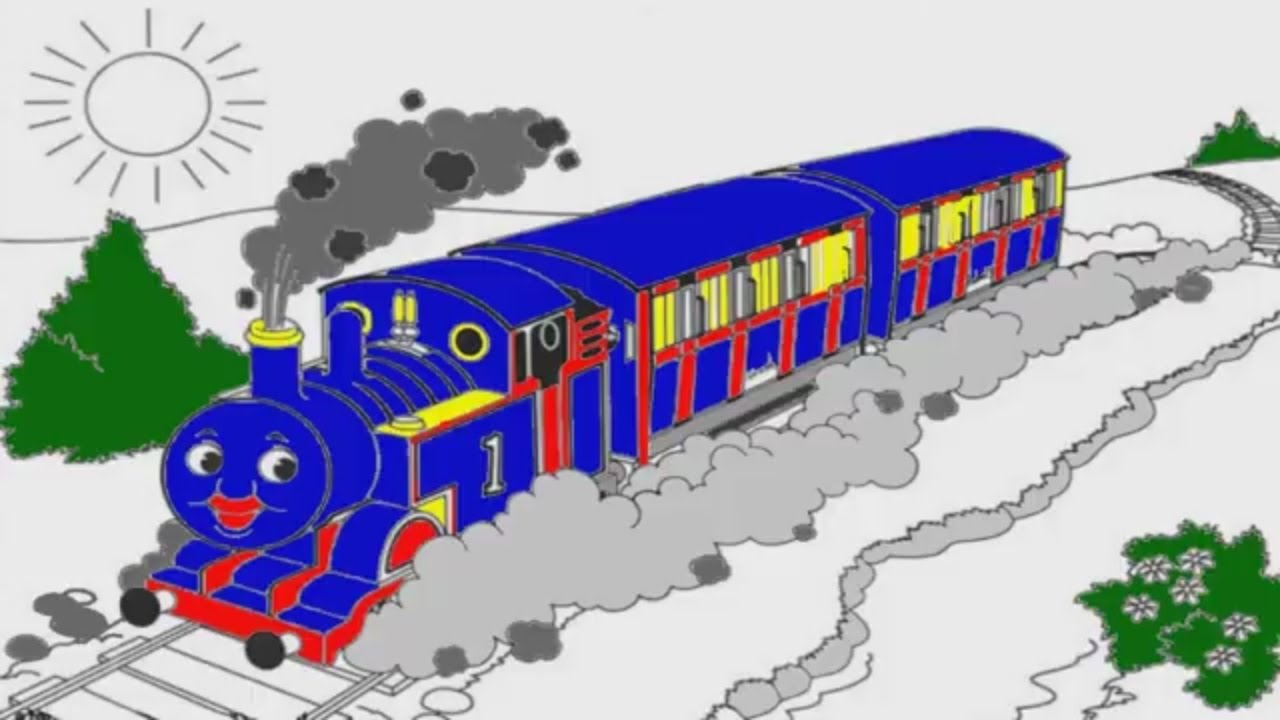 thomas and friends coloring pages youtube