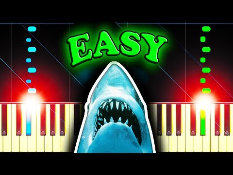JAWS THEME - Easy Piano Tutorial