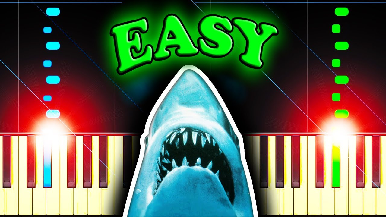JAWS THEME - Easy Piano Tutorial