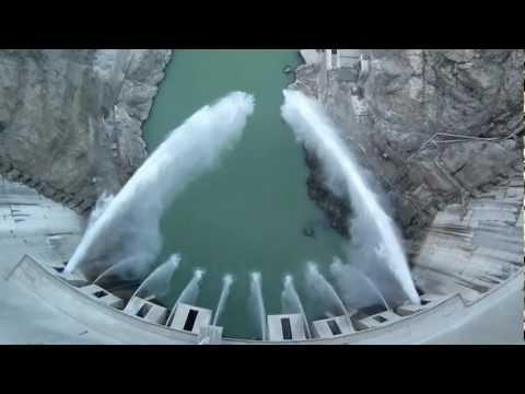 Artvin Deriner Barajı Orifis Su Tahliyesi