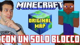 ONE BLOCK ORIGINAL MAP - MINECRAFT OFFICIAL WORLDS #2 - SE I VIDEOGIOCHI PARLASSERO - Ale Vanoni
