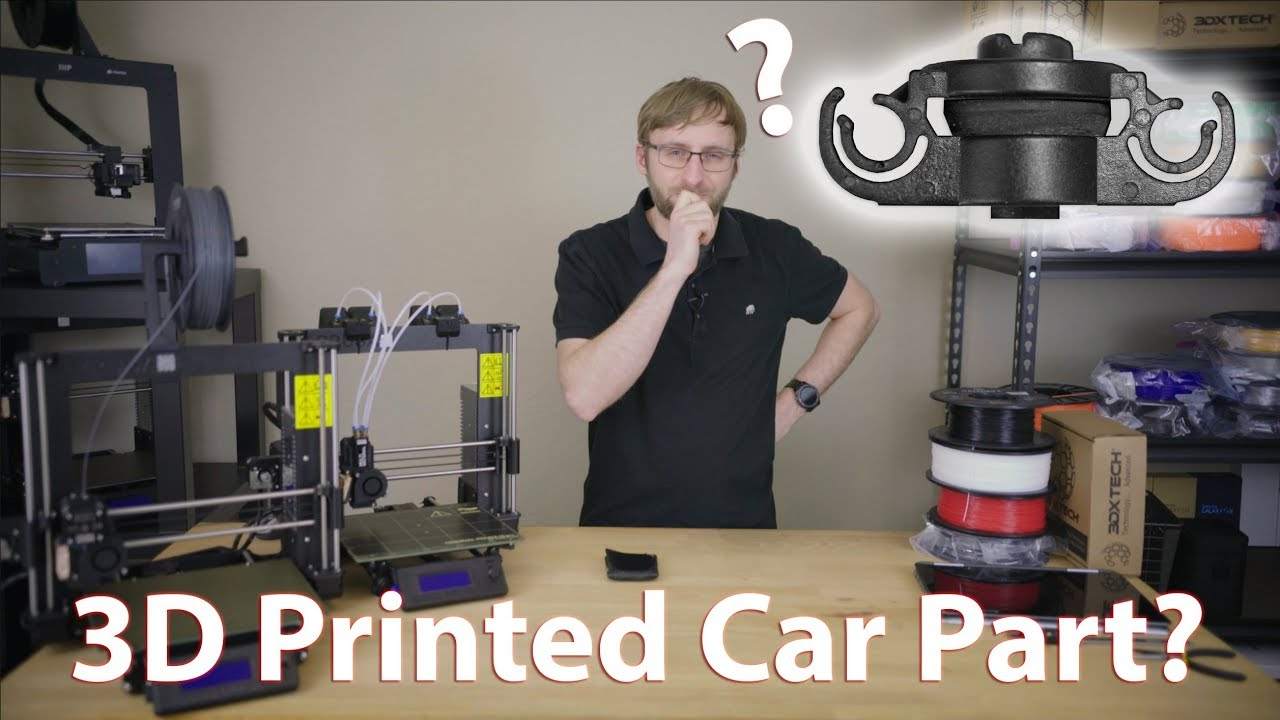 3D Printed Car Parts? We put ASA to the test!
