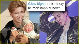 ARMY's SHOCKED that Jin HID From RM's CHILD? BTS SPLITTING For The Album?