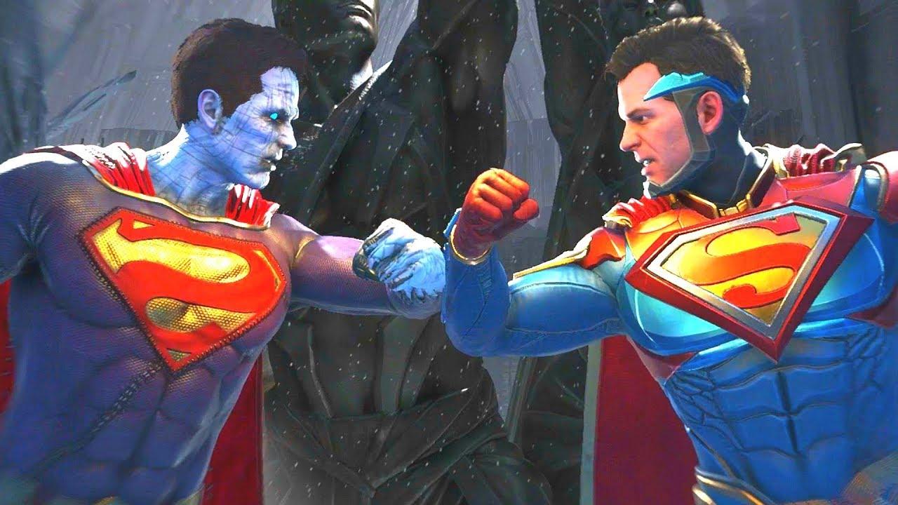 Download Injustice 2 - Bizarro Vs Superman All  Intro Dialogue/All Clash Quotes, Super Moves