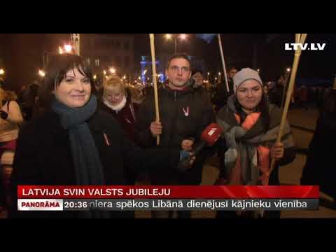 Latvija svin valsts jubileju