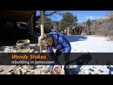 Video: #Jamestown continues to rebuild after #flood damage. #boulder #cowx