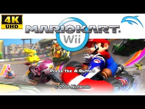 Mario Kart Wii [4K/2160p/60 FPS UHD Texture Pack] | Dolphin Emulator 5.0 (Ishiiruka) | Nintendo Wii