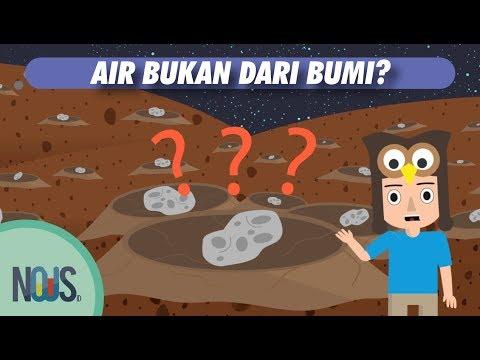 Dari Mana Asal Air Di Bumi?