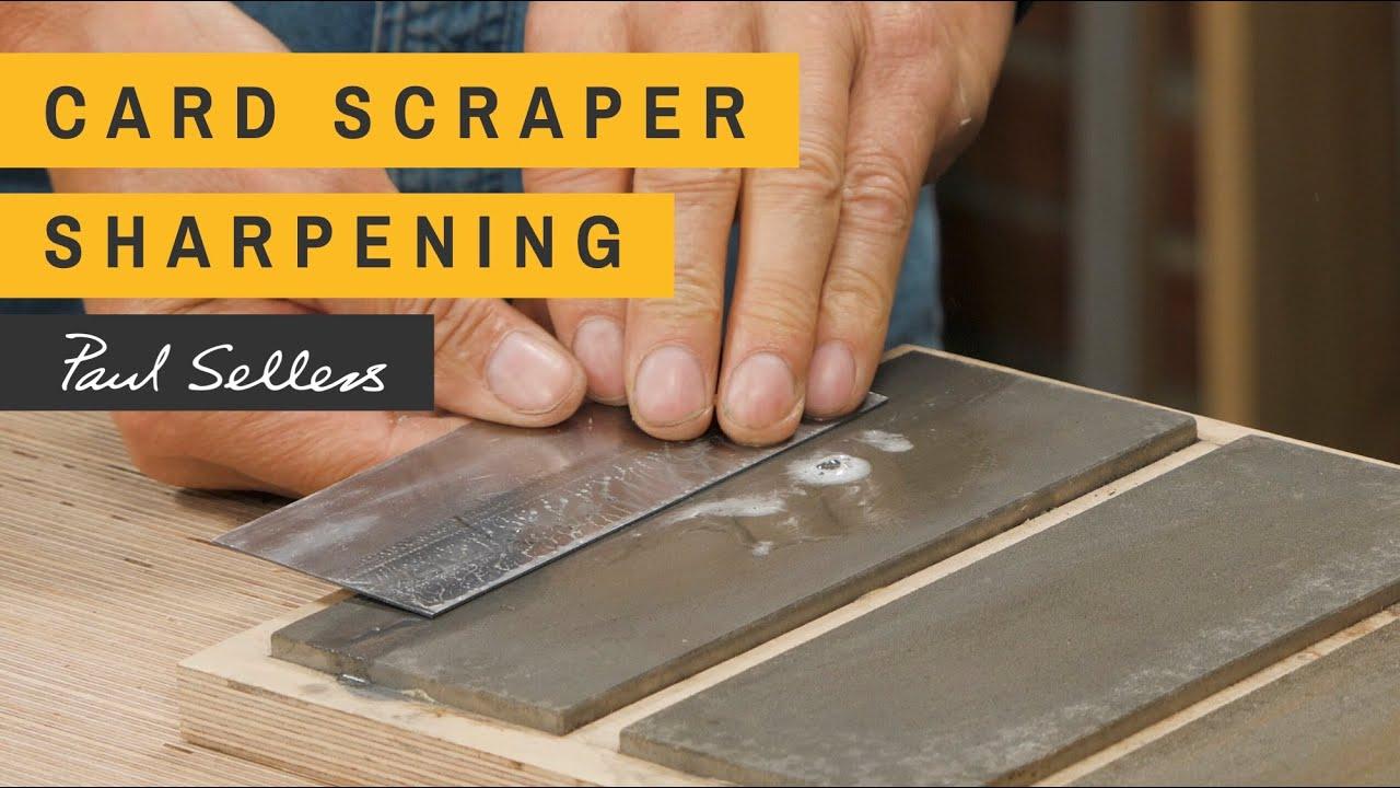 Download Card Scraper Sharpening   Paul Sellers