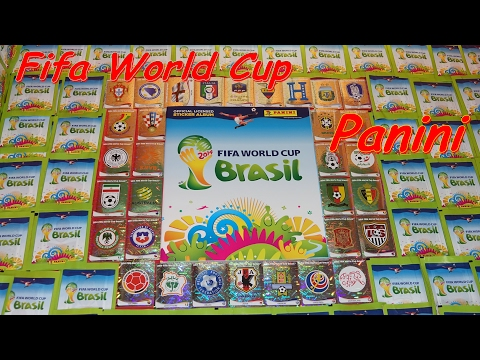 PANINI STICKER FIFA World Cup Brasil 2014 unboxing Sticker in Paninialbum
