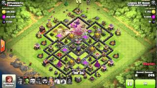 Clash Of Clans: Awesome attack on AB's base.