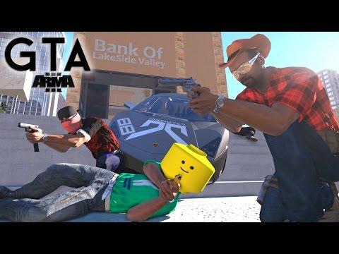 » GTA IN ARMA 3 « - Der Aufstieg und Fall der kriminellen Macht von Lakesidevalley [1H] [4K]