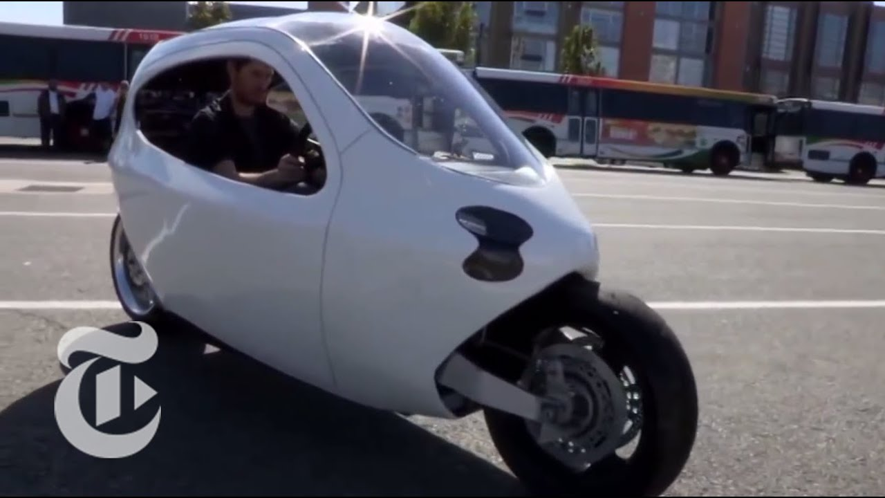 the self balancing electric motorcycle of the future | the new