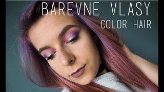 JAK NA BAREVNÉ VLASY | Dying my hair color | Den