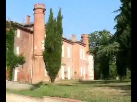 TOULOUSE (pres de..) PHILIPPE TILLIET & le chateau de  VILLEFRANCHE.mp4
