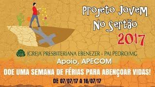 Projeto Jovens no Sertão - Entrevista prefeito de Pai Pedro