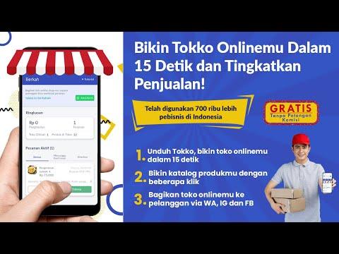Tokko - Bikin Online Shop 15 Detik #TokoMasaKini
