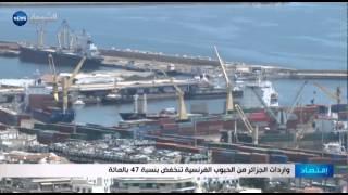 واردات الجزائر من الحبوب الفرنسية تنخفض بنسبة 47 بالمائة