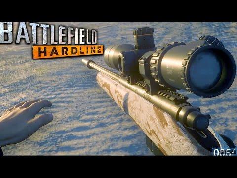 Battlefield Hardline Sniper Stealth Mission Gameplay Veteran