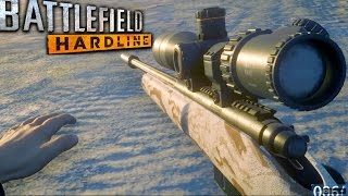 Battlefield Hardline Sniper Stealth Mission Gameplay Veteran